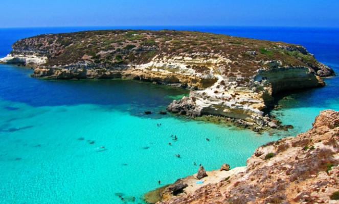 La più bella del mondo è la spiaggia dell'Isola dei Conigli