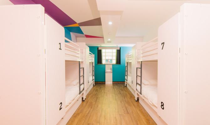 Dormitorio Generator Hostel London