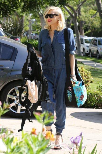 Gwen Stefani, una bionda per le vie di Los Angeles