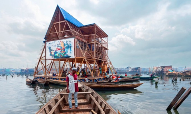 Makoko Floating School, simbolo di social architecture
