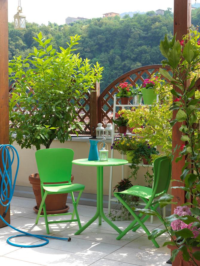 Sedie e tavolino Nardi