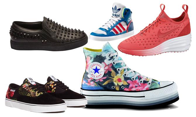 Tendenza scarpe: è sneaker-mania!