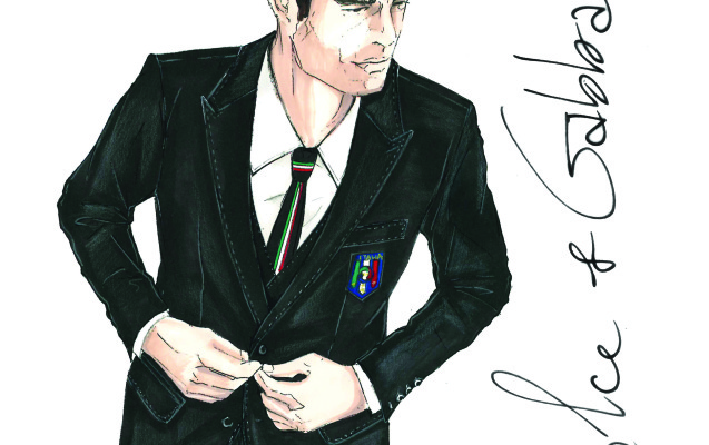 Dolce&Gabbana divisa nazionale italiana Mondiali 2014