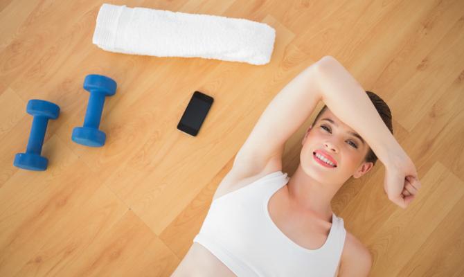 Fitness con lo smartphone