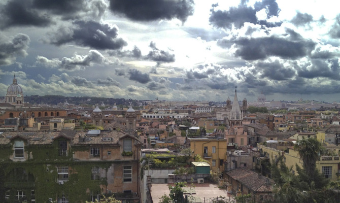 Le nuvola sopra Roma: scatti d'autore in mostra