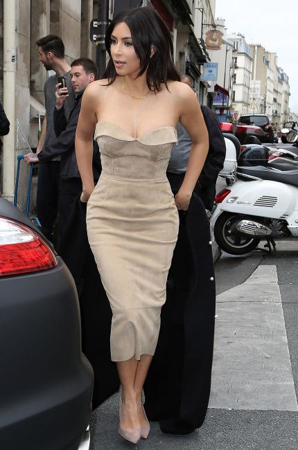 Kim Kardashian in Ermanno Scervino