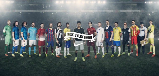 Ronaldo protagonista spot Nike Risk Everything