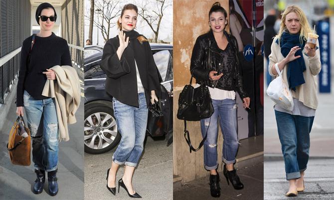 Il boyfriend jeans: come lo indossano le star