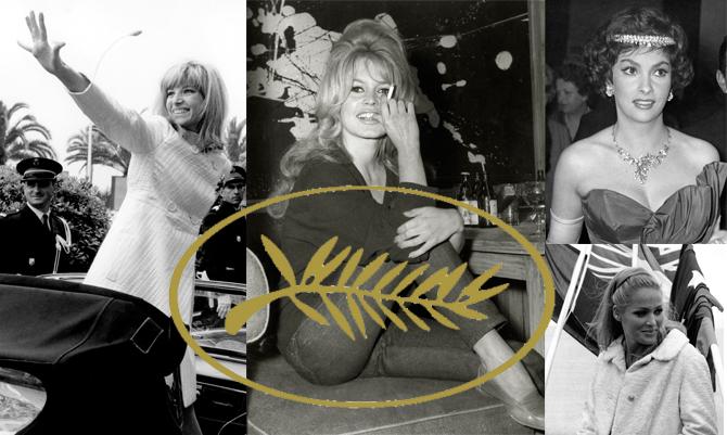 Le bellezze vintage che infiammarono Cannes