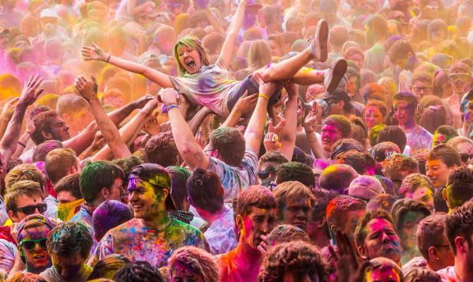 festival del colore India
