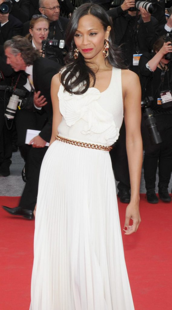 Zoe Saldana a Cannes