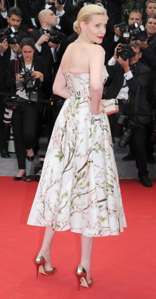 Nadja Auermann a Cannes