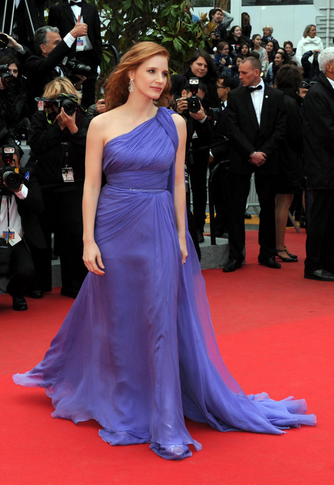 Jessica Chastain a Cannes