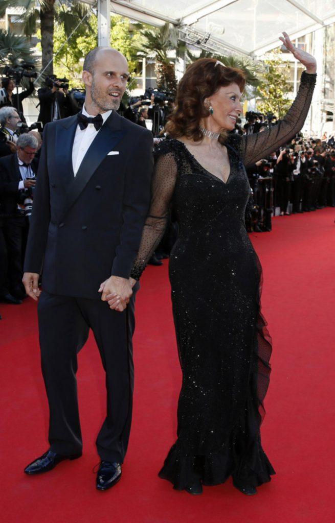 Sofia Loren a Cannes