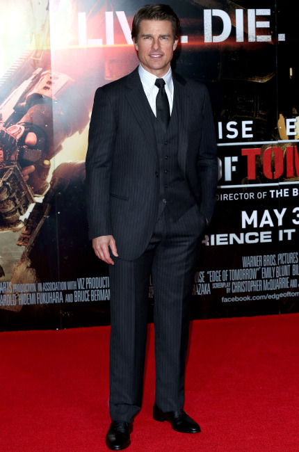 Tom Cruise in Giorgio Armani