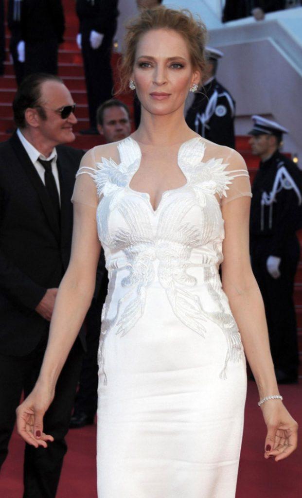 Uma Thurman a Cannes