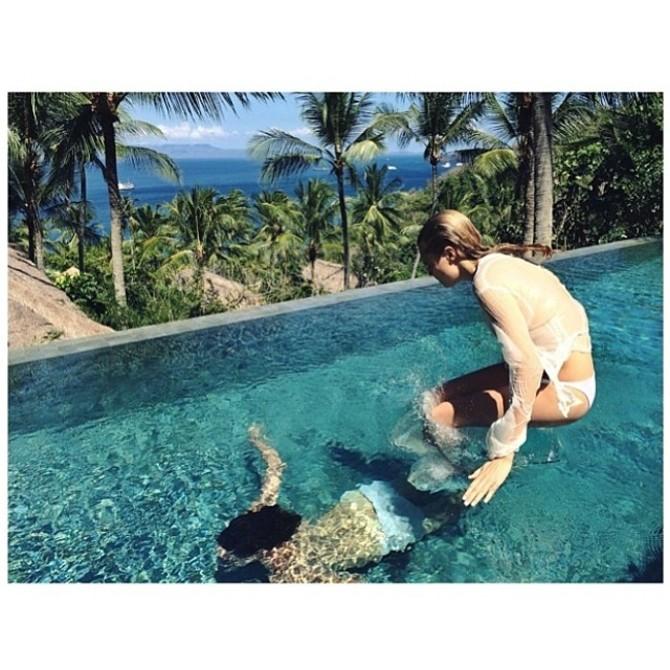 Cara Delevingne a Bali