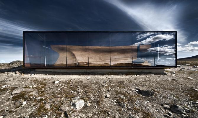 Un gioiello architettonico per osservare la natura
