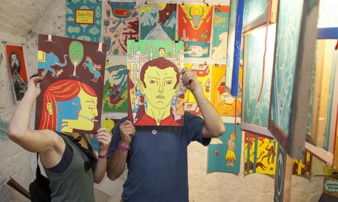La GENESI dell'arte indipendente: CRACK!