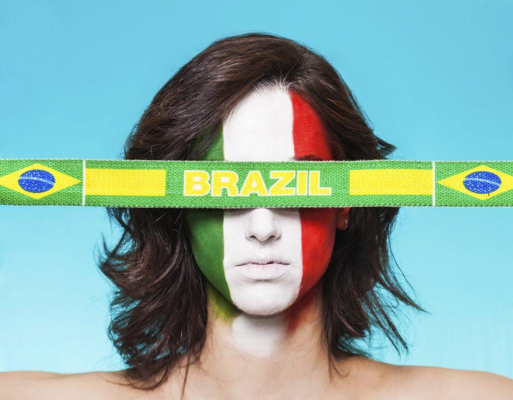 """Brasile, l'arte è anche """"azzurra"""""""