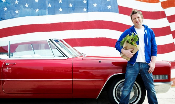 On the road con Jamie Oliver