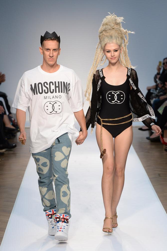 Jeremy Scott e una modella