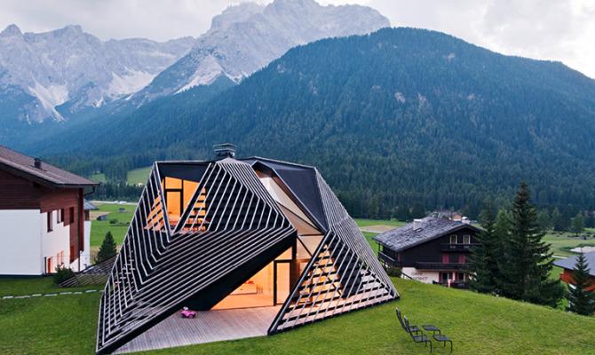 Paramount Alma Residence, il design alpino di Sesto