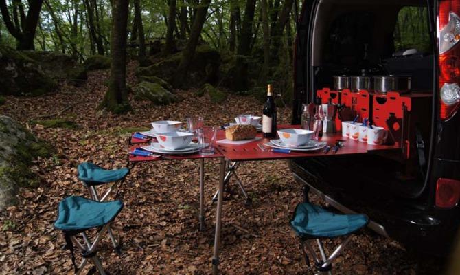 Se l'auto diventa un camper, il viaggio diventa un'avventura