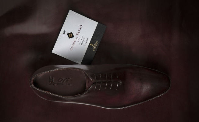 Moreschi shoes Antinori wines limited edition
