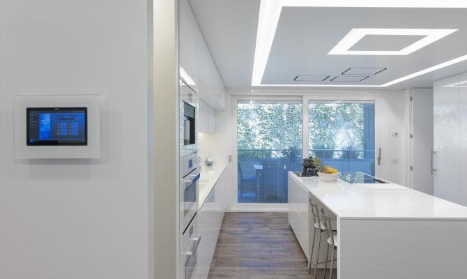 Una casa hi-tech e personalizzata