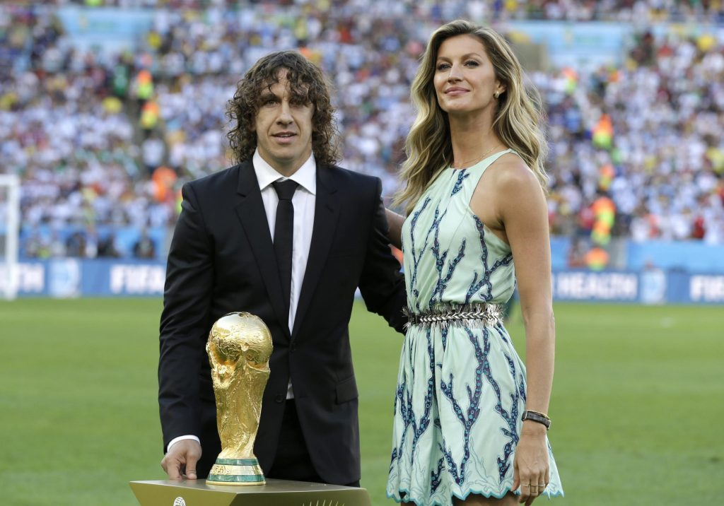 Gisele, Puyol e la Coppa del Mondo