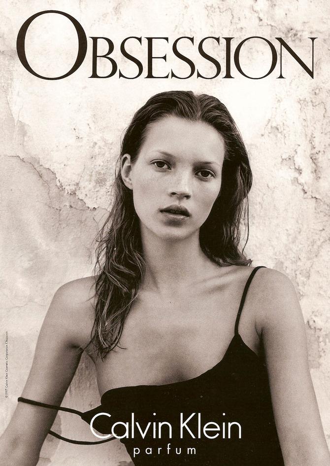 Kate Moss per Calvin Klein