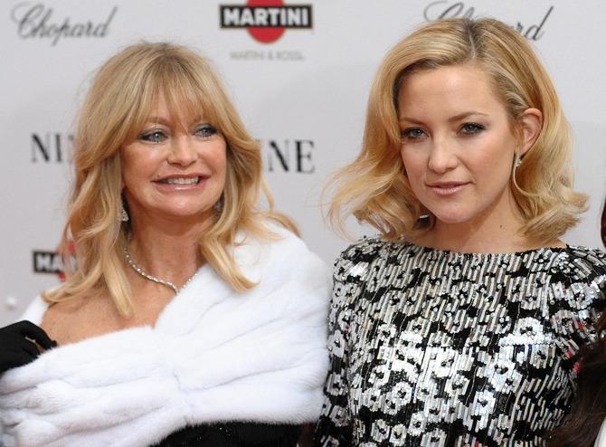 Kate Hudson e Goldie Hawn
