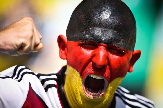 Mondiali 2014 Makeup da Stadio