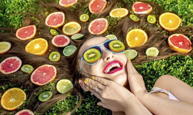 Maschere alla frutta per capelli