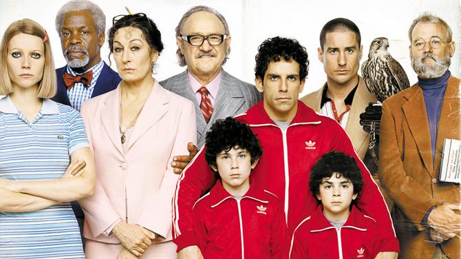 La famiglia Tenenbaum al completo