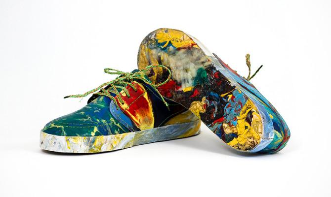 L'immondizia si fa scarpa (ecologica)