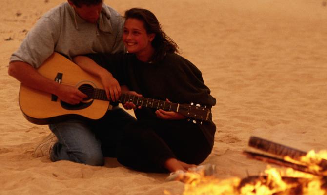 San Lorenzo: fuoco, chitarra e spiaggia