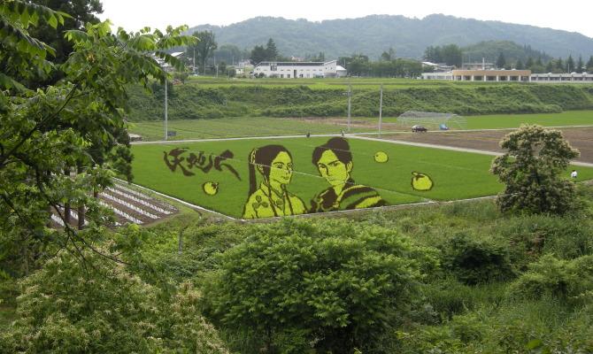 Tambo art a Yonezawa