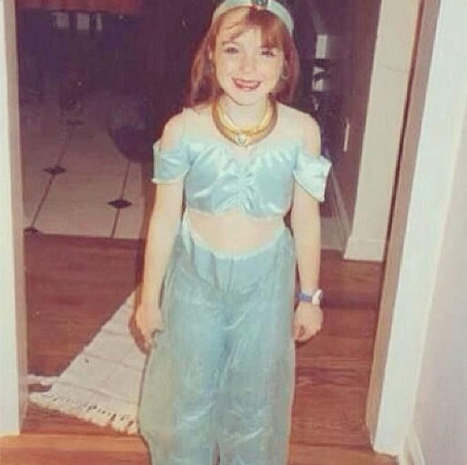 Lindsay Lohan da bambina