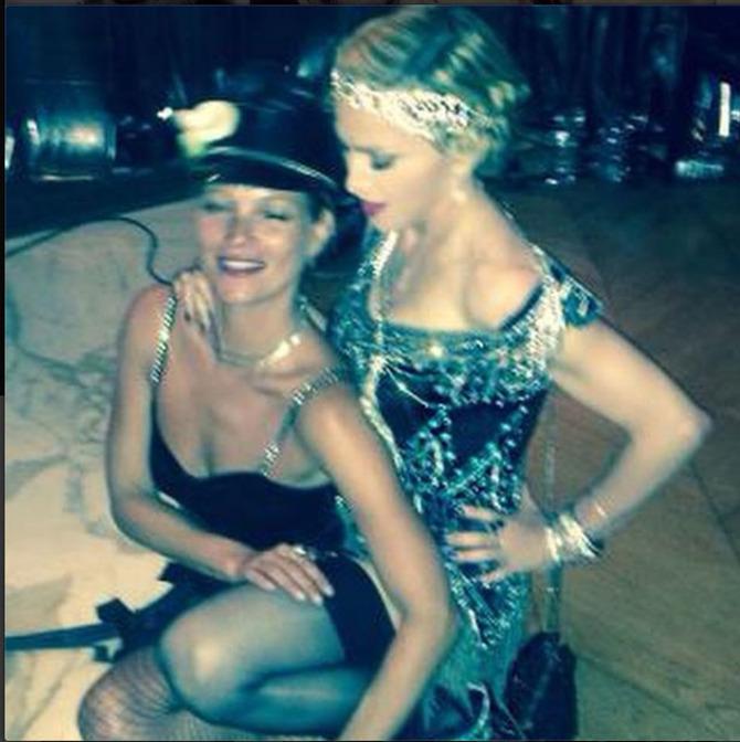Kate Moss e Madonna