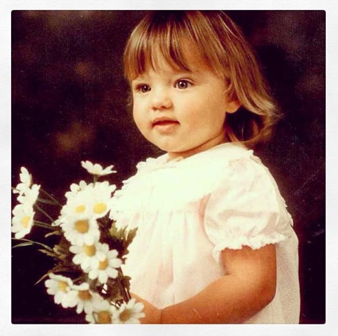 Miranda Kerr da bambina