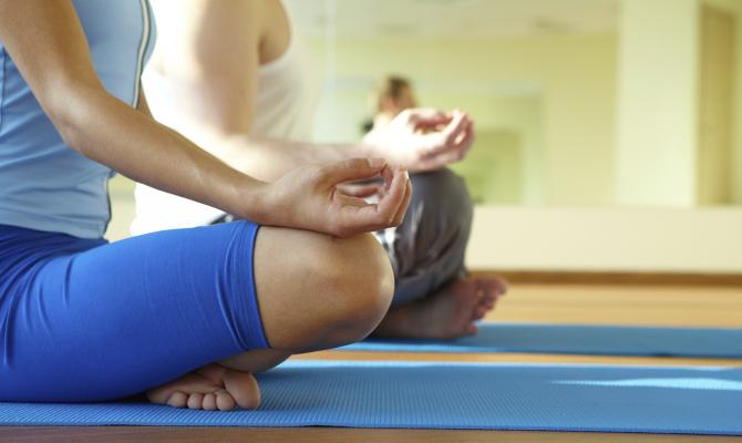 Helsinki: lo yoga si fa in aeroporto