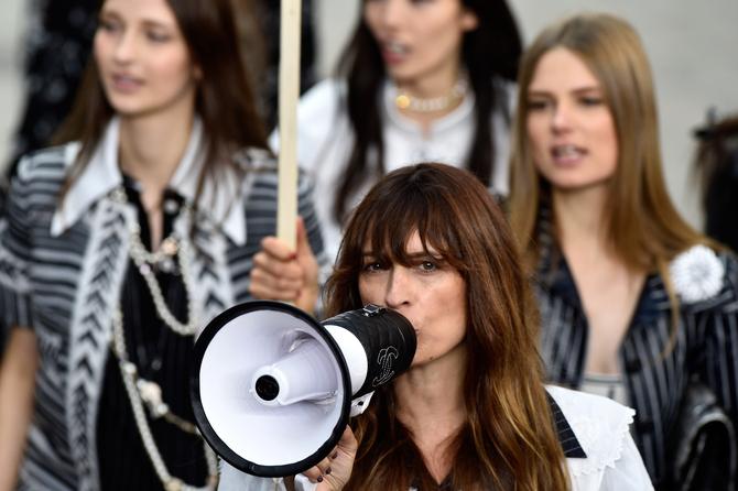 Charlotte Gainsbourg per Chanel