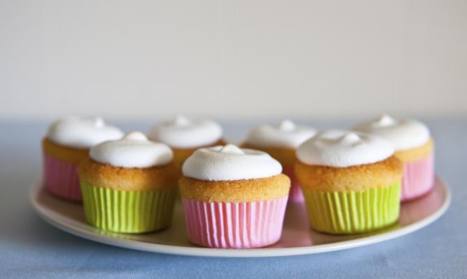Cupcakes al limone e meringa