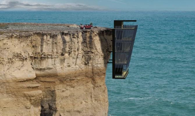 Cliff House, il brivido di una casa panoramica