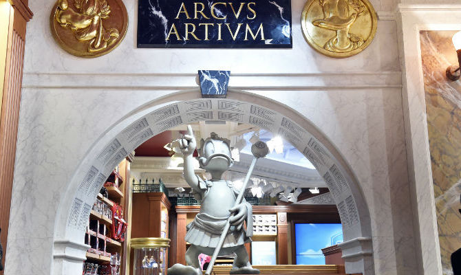 Disney Store celebra l'Antica Roma