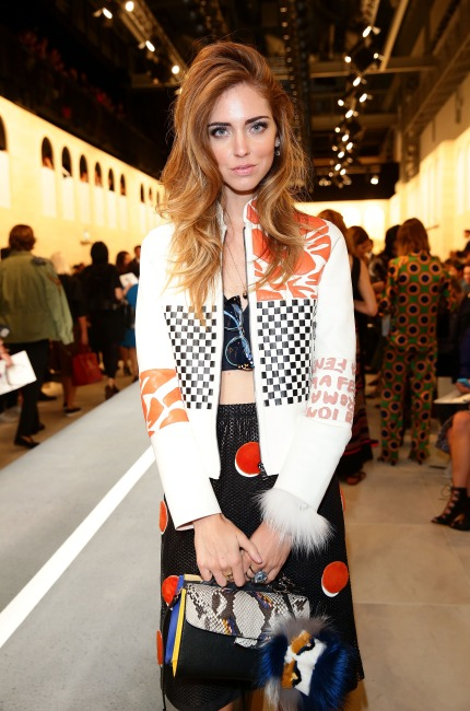 Chiara Ferragni in Fendi
