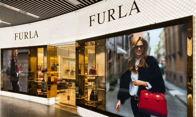 Furla flagship store Melbourne Australia