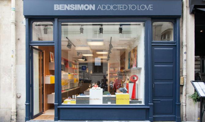 Bensimon fashion store parigi rue Russeau